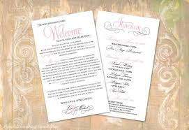 Destination Wedding Itinerary Welcome Itinerary Cards Krystals Wedding Invitations