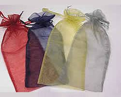 large organza bags organza bags many colours in three sizes barama gift packaging