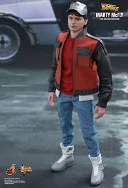 Marty Mcfly Costume Toys Back To The Future Part Ii Marty Mcfly 1 6th Scale