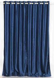 Curtain Interior Wondrous Brigh Crusher Velvet Curtain With Iron Rod