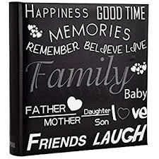 photo albums with memo area family friends travel destinations memory photo picture