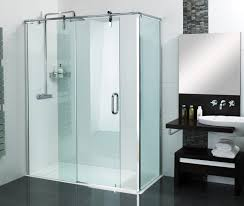 sculptures sliding door shower enclosure installed to our stylish