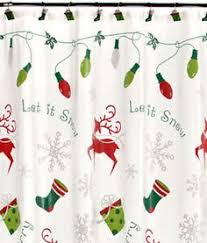 lenox holiday nouveau christmas shower curtain towels and bath