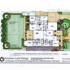 landscape architect master plans blueprints in dallas