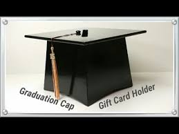 graduation money box graduation cap gift card holder