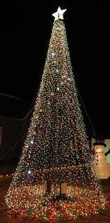 mega tree lights for