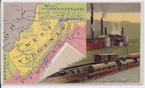 Marietta Ohio Map by Maps Antique United States Us States West Virginia