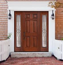 wood and glass exterior doors accessories attractive dark cherry wood double front door with