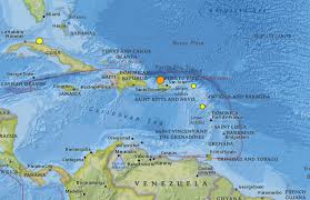 Puerto Rico On A Map by Puerto Rico Earthquake M6 5 Tremor Strikes January 2014
