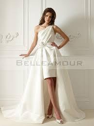 robe mari e courte devant longue derriere robe de mariée ivoire courte devant longue derrière civil satin