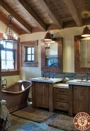 rustic bathroom bathrooms