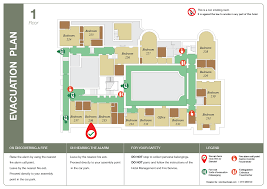 Fire Evacuation Floor Plan 2d Evacuation Plans Silverbear Design
