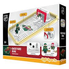 backyard rink minnesota wild oyo sports nhl minifigures