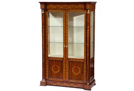 rosewood china cabinet for sale beautiful rosewood neoclassical display cabinet omero home