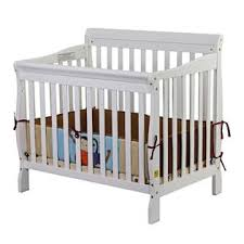3 In 1 Mini Crib On Me On Me Aden Convertible 3 In 1 Mini Crib White