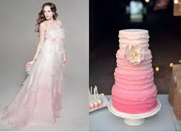 ombre wedding dress dresses 21st bridal world wedding ideas and trends part 2