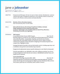 Junior Product Manager Resume Make The Most Magnificent Business Manager Resume For Brighter Future
