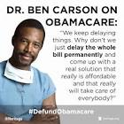 Dr. Ben Carson Hits Obamacare, Wins on Facebook
