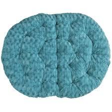 Papasan Cushion Cover Pattern by Fuzzy Teal Double Papasan Cushion Pier 1 Imports