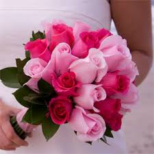 wedding flowers pink i absolutely pink roses i think i will carry pink and my