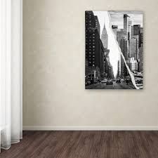 Chicago Map Wall Art by Trademark Fine Art Ready By Moises Levy 5 Panel Wall Art Set