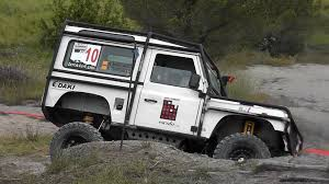 british land rover defender land rover defender 90 4x4 trial youtube