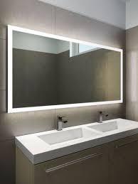 Bathroom Heated Mirror Bathrooms Mirrors Bathroom Bathroom Mirrors With Lights In