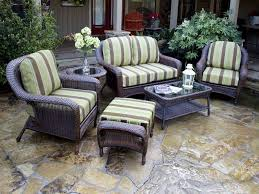 Grey Wicker Patio Furniture by Patio Grey Wicker Outdoor Furniture Home Designing Ideal