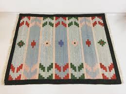 mid century scandinavian flatweave rug for sale at pamono