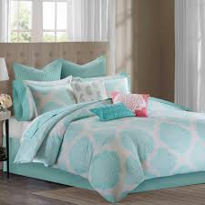 bedroom gray and yellow theme aqua decoration loversiq shop echo comforter on wanelo designtrade bindi set in aqua bedroom ideas pinterest bedroom
