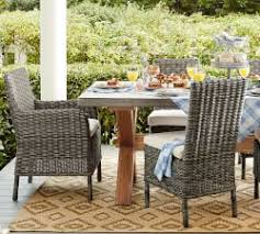 Patio Table With Built In Heater Outdoor U0026 Patio Furniture Pottery Barn