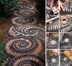Do It Yourself Garden Art - fabulous garden decorating ideas with rocks and stones diy do