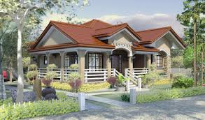 simple bungalow house design with terrace modern roof