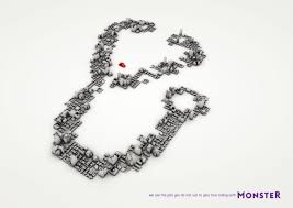 monster print advert by miami ad stethoscope ads