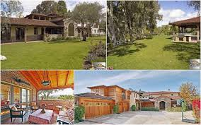 Calabasas Ca Celebrity Homes by Celebrity Real Estate Country Singer Star Leann Rimes And Actor