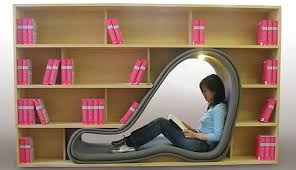 Really Comfortable Chairs Cave Book Case Seating By Sakura Adachi Chairblog Eu