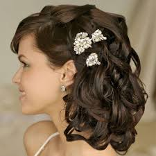 curly hairstyles for medium length hair for weddings bridal side swept hairstyles for medium hair u2014 28 photos of the