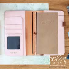 Walnut travelers notebook
