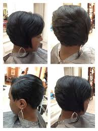 layered bob haircut african american african american short layered haircuts best black hair 2017