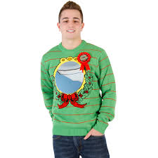 mirror ugliest sweater award humorous sweater