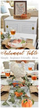 beginner friendly thanksgiving tablescape fox hollow cottage