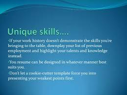 Well Written Resumes Benefits Of A Well Written Resume