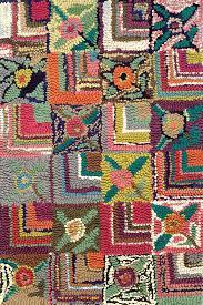 cotton hooked rug dash albert