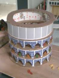 ideas for ks2 roman project easy cardboard model of the colosseum project pinterest