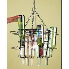 Wine Bottle Chandeliers Wine Bottle Chandelier Diy Design Decoration