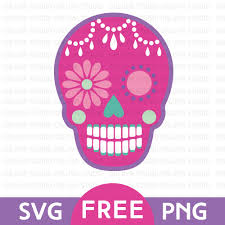free pumpkin svg pink sugar skull free svg u0026 png download free svg u0026 png files