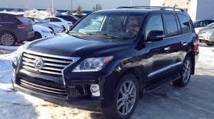 used 2015 lexus lx 570 2014 lexus lx 570 4wd executive demo ultra premium package