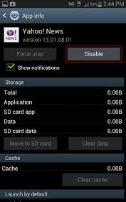 disable app android how to disable android apps bloatwares that comes along with