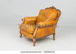Armchair Leather Armchairs Leather Antique Stock Photo 670639867 Shutterstock