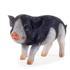 three pigs realistic resin garden ornament set 40 95